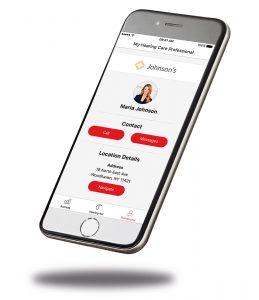 Signia Nx Hearing Aids smartphone