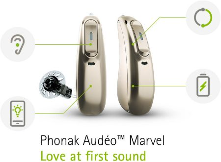 Phonak Audeo Marvel Hearing Aids Sydney